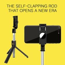 Selfie Stick treppiede Smart Remote K10 monopiede per telefono allungabile Wireless compatibile con Bluetooth per ornamenti per telefoni cellulari allaperto