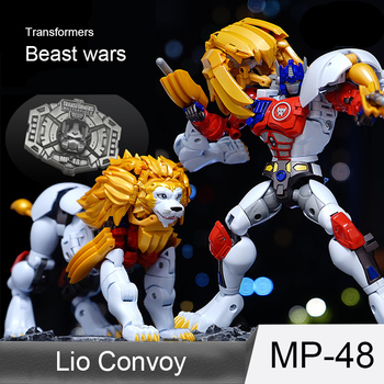 TAKARA TOMY Transformers Dinobot MP-48 BW Beast Wars Lion Monster Action Fgiure Lio Convoy Deformation Robot Collections Gift 1