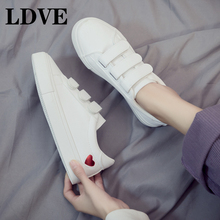 2019 Women Fashion Vulcanized Shoes Tenis Feminino Zapatos De Mujer Slimming White Sneakers Casual Breathable