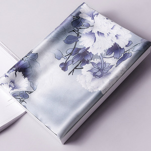 Image 5 - Foulard en soie femmes printemps châles et enveloppes Foulard Pashmina foulards imprimer 100% Foulard en soie pour dame
