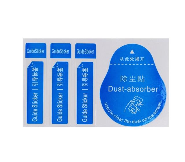 1000 pces para a lente da câmera óptica lcd limpador de tela para o iphone 8 7 6s remoção papel poeira absorvente adesivo atacado