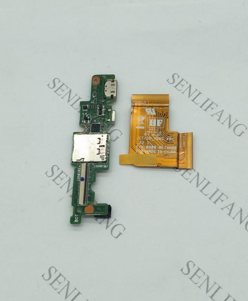 For Dell Venue Pro 7130 7139 T07G Mini USB Interface Board W Cable R26KY 0R26KY HDMI Port Free Shipping