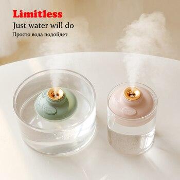 цена на Bottle Mini Portable USB Air Purifier Humidifier Car Aroma Diffuser Home Office Trip limitless Heavy Mist Wireless Humidifier