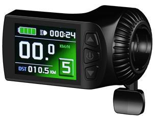 Colourful KT LCD9Anti-charge Electric Bicycle Display E Bike Accessories Controller LCD Bike Panel 24V 36V 48V Ebike