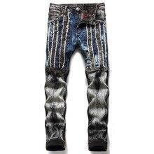 Denim Designer Jeans High Quality For Men'S Size 28-38 2021 Autumn Spring HIP HOP Punk Streetwear