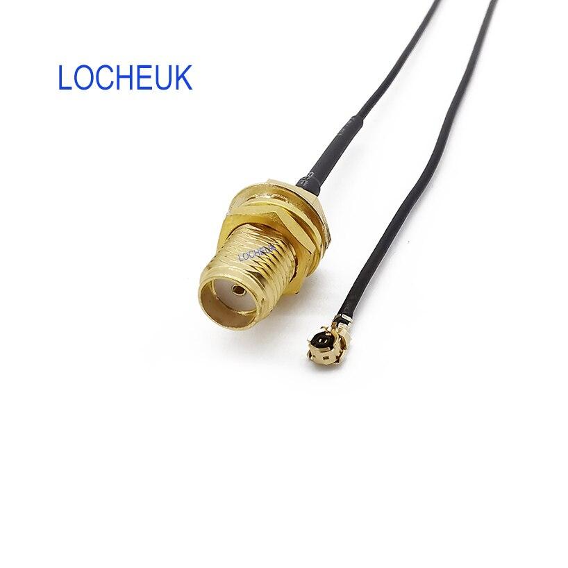 RF Соединительный пигтейльный кабель SMA гнездо переборка к UFL./IPX Удлинительный кабель 1,13 провода