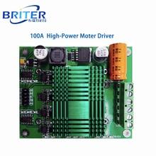 Motor drive board DC12-48V motor drive moudle 100A high power Controller Board DIY robot kit