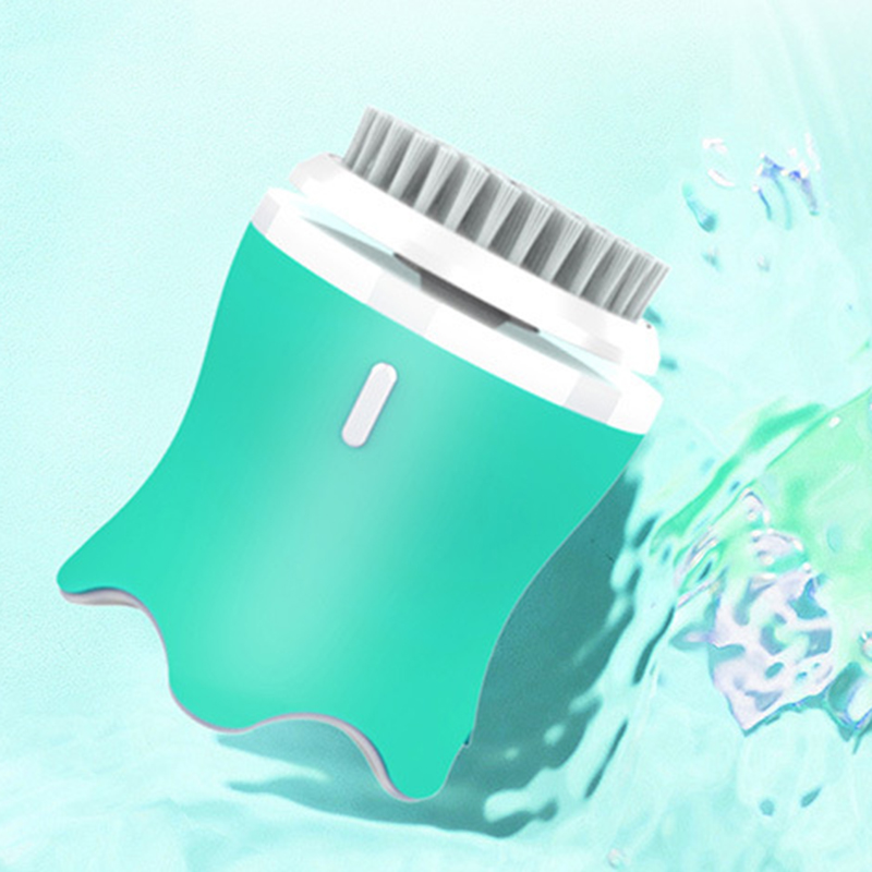 Cepillo de limpieza Facial para exfoliación, cepillo de limpieza Facial electrónico con 3 modos, temporizador inteligente y cerdas suaves, Waterproo - 2