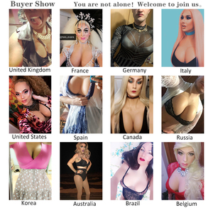 Image 5 - Silicone Breast Forms Artificial Fake Boobs Bodysuit Plate Tetas Tits For Drag Queen Transgender Shemale Crossdresser Travesti