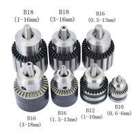Mandril de broca b10 b12 b16 b18 0.6 6mm 1 10mm 1.5 16mm 1.5 13mm 3 16mm mandril de 1 16mm para broca de máquina ferramenta cnc pesado Mandril     -