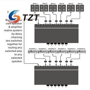 Image 5 - TZT ستة طريقة مكبر صوت ستيريو مفتاح جهاز انتقاء مكبر للصوت محدد ثنائي الاتجاه انتقائي الجلاد B898