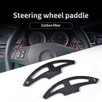 Car Steering wheel  shifter paddle extend fit for BMW E90 E91 E92 E46 shift gear paddle extension dial pick carbon fiber style|Steering Wheels & Steering Wheel Hubs|Automobiles & Motorcycles -