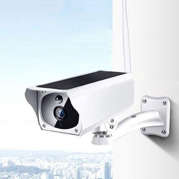 Solar Panel WIFI Camera 1080P HD IP Camera Wire-Free Battery Outdoor IP67 WaterProof 2MP Security CCTV Video PIR Two Way Audio