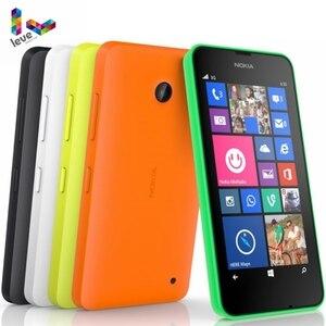 Оригинальный сотовый телефон Nokia Lumia 635, Windows OS, 4,5 дюйма, четырёхъядерный, 8 Гб ПЗУ, 5 МП, Wi-Fi, GPS, 4G LTE, разблокированный мобильный телефон