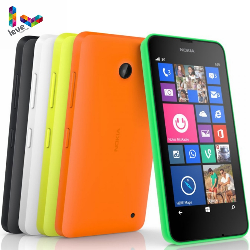 Nokia Lumia 635 Original Cell Phone Windows OS 4.5 Quad Core 8G ROM 5.0MP WIFI GPS 4G LTE Unlock Mobile Phone image