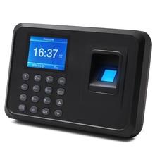 Biometric Fingerprint Time Attendance System Clock Recorder Office Employee Device