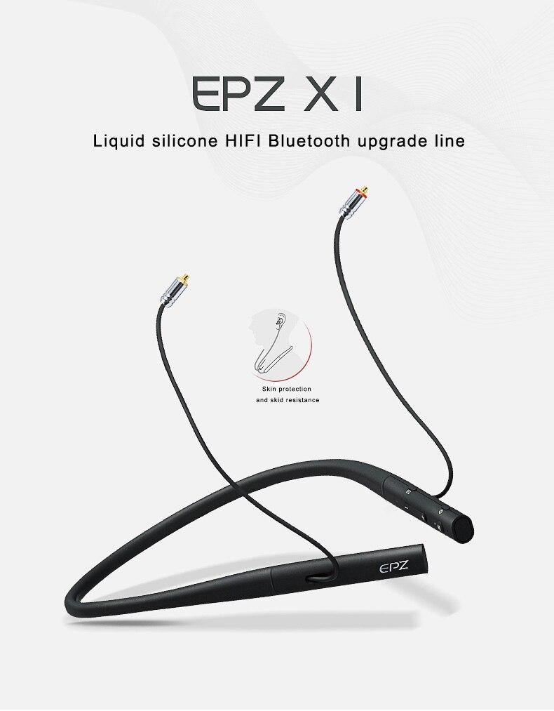 EPZ-X1Earbud Wireless sports neck mount monitor Bluetooth Stereo Sports Waterproof headset earphone