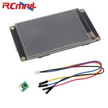 3.5 인치 Nextion 디스플레이 향상된 USART HMI 터치 디스플레이 Arduino Raspberry Pi NX4832K035 용 저항성 LCD 모듈 스크린 패널
