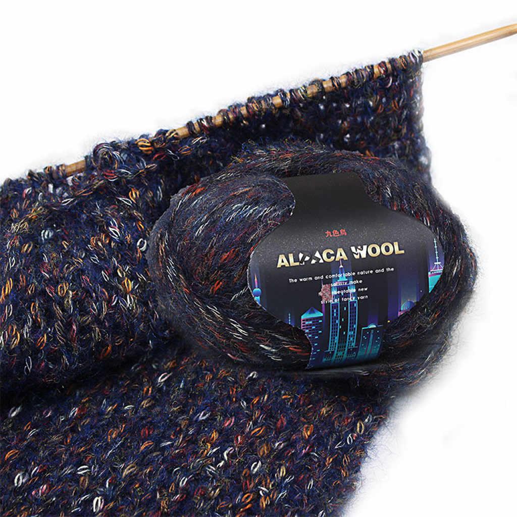 Draad Garen voor Borduurwerk Gehaakte Breien Kleurrijke Alpaca wol Hand-Gebreide voor Jas Trui Sjaal DIY Garen Haak Naaien te