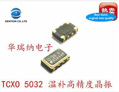 5pcs 100% New And Orginal Temperature Compensation 5032 13M 13MHZ 13.000MHZ TCXO High Precision Active Crystal Patch 5X3.2