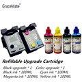 GraceMate 301 многоразовый картридж для принтера hp 301 Envy 5530 Deskjet 2050 2540 2510 1000 1050