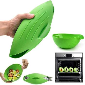 Składany silikonowy kieszonkowy silikonowy kuchenka mikrofalowa ryba parowa miska wypiek chleba narzędzie kuchenne składana miska dla Dropshipper tanie i dobre opinie HH057 Folding Bowl Bowls Disposable Eco-Friendly Silicone