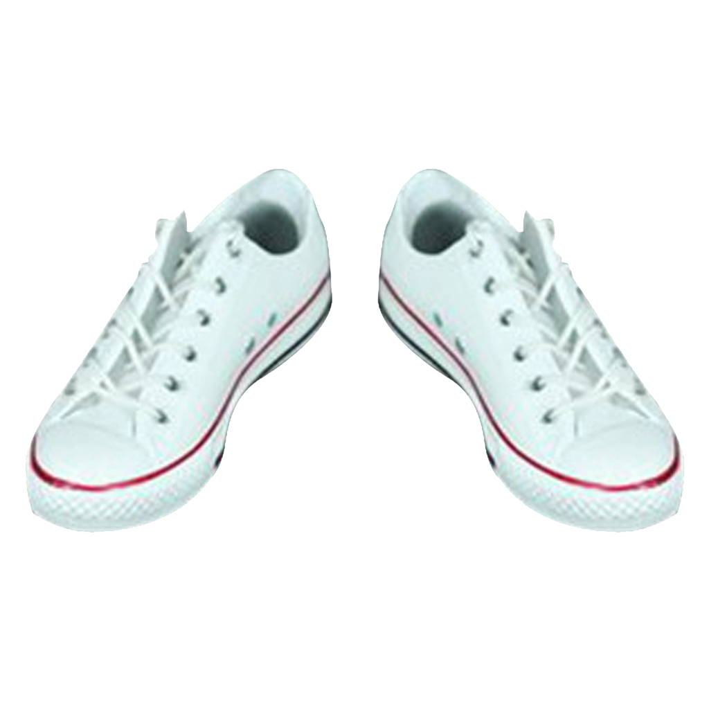 3 Pairs 1//6 Scale Canvas Shoes Flat Heel Sneakers for 12in Kumik Toys Dolls