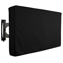 Outdoor TV Cover with Bottom Cover Weatherproof Dust-Proof Protect LCD LED Plasma Television TV Cover(China)