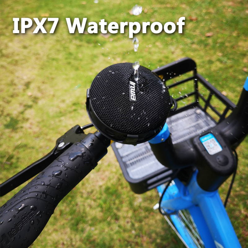 waterproof Bluetooth Speaker for both Bicycle and Showers  3