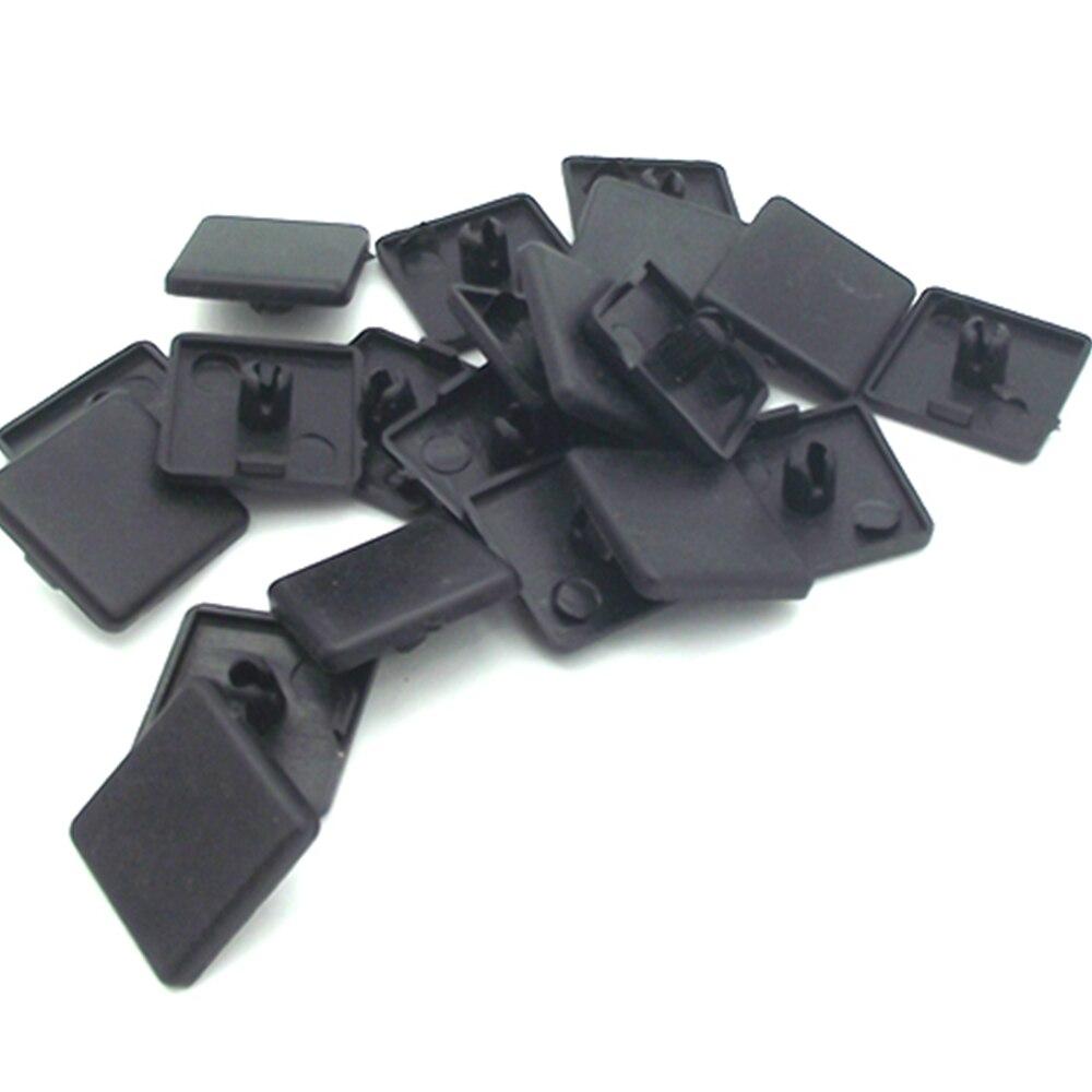 20pcs 2020 Plastic ABS End Cap For 20 Series T-slot  Aluminum Profile Accessories Single Hole