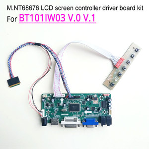 "Voor BT101IW03 V.0 V.1 1024*600 Lvds 40Pin Wled M.NT68676 Screen Controller Drive Board Vga Hdmi Dvi Laptop Lcd-scherm 10.1 ""Kit(China)"