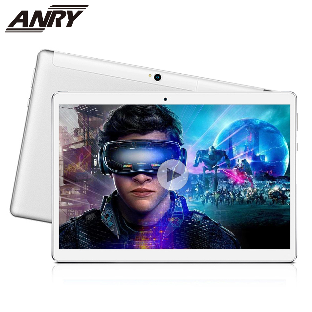 ANRY Tablets 10 Inch Tablets Android 8.1 Deca Core 1920*1200 4GB 64GB 4G Phone Call Wifi GPS MTK6797T X25 8000mAh 10.1 Phablet