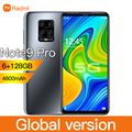 """Radmi Note 9 Pro 6GB 128GB 5G Global Version Smartphone 6.1"""" 10 core 4g network Mobile Phones Android 10 CellPhone Smart phone"""