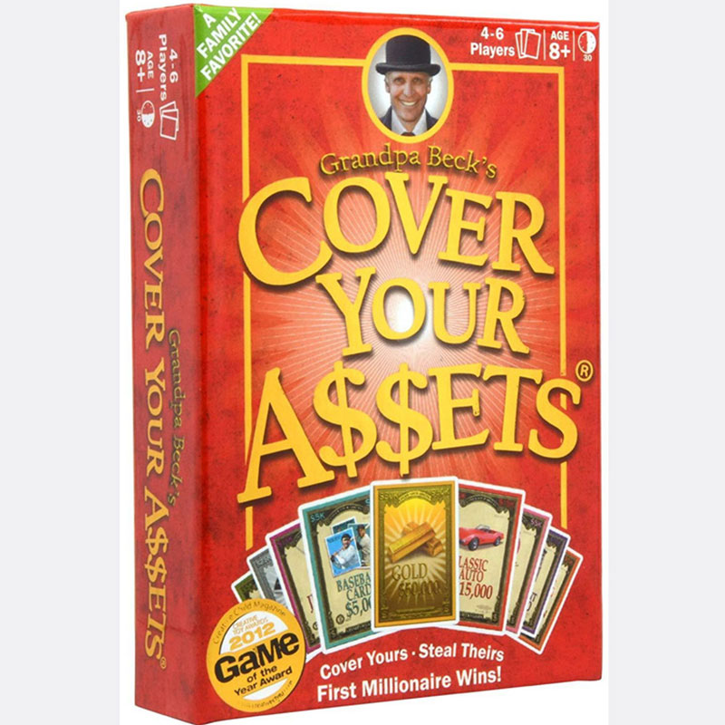 Grandpa Beck/'s Cover Your Assets New From the creators of Skull King and The..
