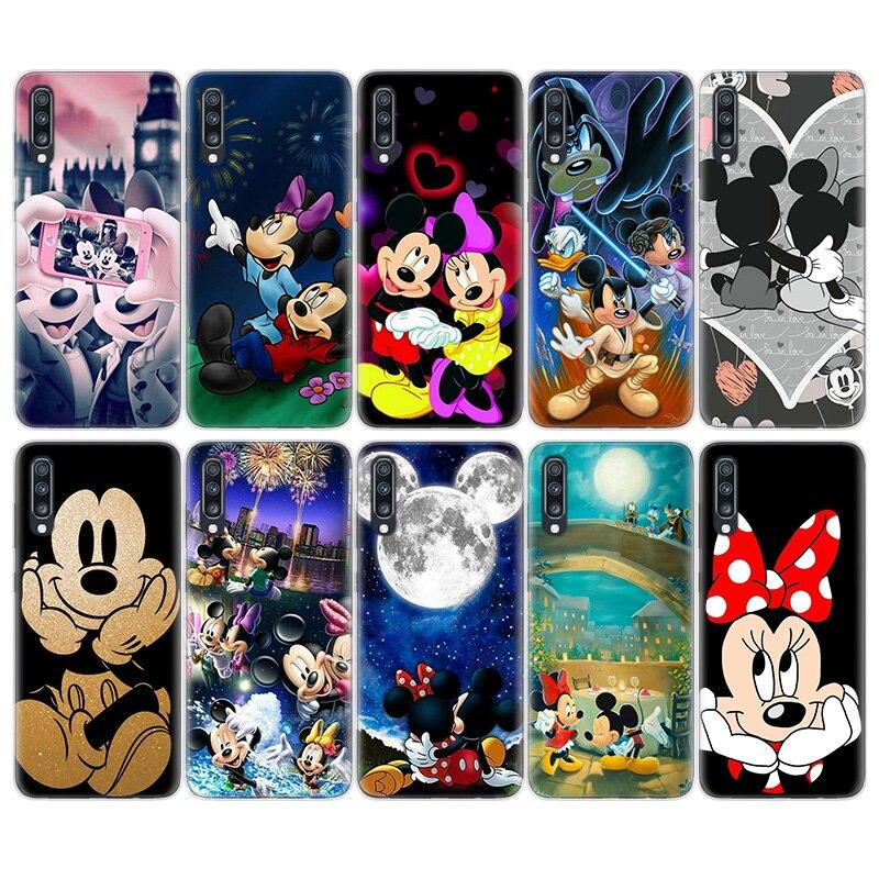 Luxury Disney For TPU Case For Samsung Galaxy A51 A71 A50 A70 A20 A30 A40 A10 A20E J4 J6 A6 A8 A7 A9 2018 Cover