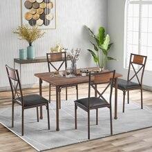 Обеденный стол мебель для гостиной 4 шт стул ресторанная современные