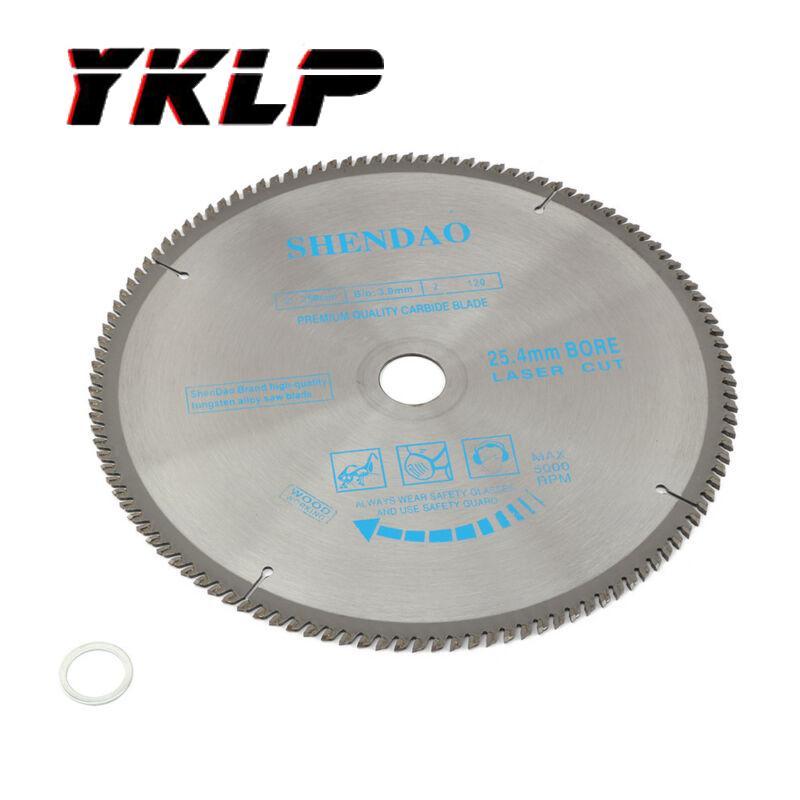 10 Inch Carbide Circular Saw Blade Disc For Cutting Wood 25.4mm Hole 120 Teeth