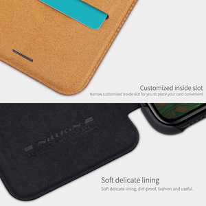 Image 3 - OnePlus 8 case OnePlus 7T Pro case NILLKIN Vintage Qin Flip Cover wallet PU leather PC back cover for OnePlus 7T OnePlus 7 Pro