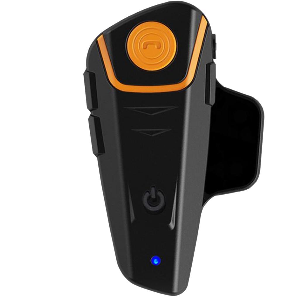 Waterproof Multi BT Interphone 1000M Motorcycle Bluetooth Helmet Intercom Intercomunicador Moto Interfones Headset