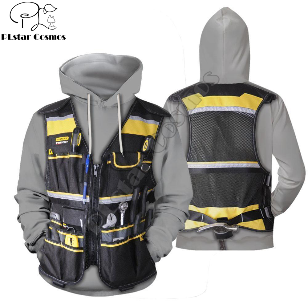 Electrician 3D Printed Hoodie And Sweatshirt Cosplay Costume Harajuku Fashion Hoodies Unisex Casual Jacket Pullover DW0013
