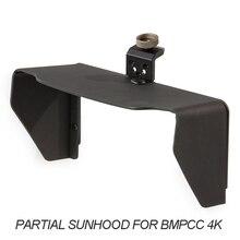 Tilta – protection solaire partielle pour caméra BMPCC 4K, écran LCD