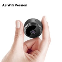 A9 Мини Full-HD 1080P маленькая Wifi камера Wifi IP мини камера ИК ночного видения микро камера обнаружения движения камера Поддержка TF карта 1