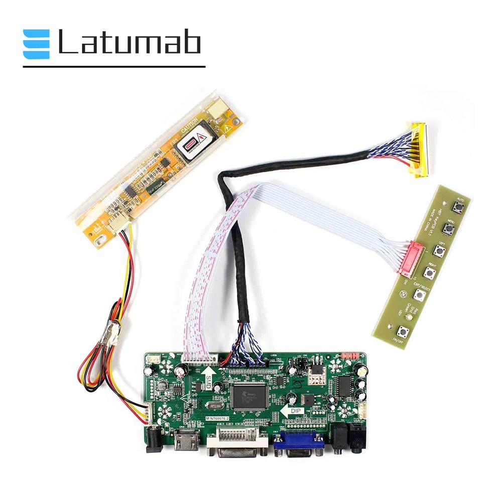 HDMI Remote LCD Controller Driver Board For LP171W01-A4K1 1440x900 CCFL Screen