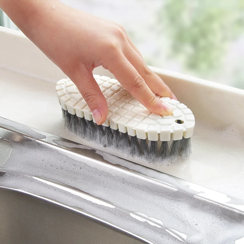 Kitchen Stove Flexible Pool Brush Deep Cleaning Tools Kitchen Bathtub Tile Cleaning Brush Without Dead Corner Kitchen Gadgets