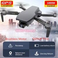 Dron teledirigido con cámara HD 4K, WIFI, FPV, posicionamiento de flujo óptico, Control por aplicación, 3D, seguimiento inteligente de acrobacias, cuadracóptero, posición GPS, RTF