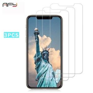 Image 1 - AFY 3 adet HD pencere camı iPhone X XR XS Max telefon ekran koruyucu için iPhone 7 8 artı 6 6S 5 5S SE 4 4S temperli cam