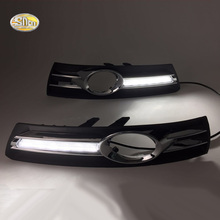 SNCN LED Daytime Running Lights for Volkswagen Vw Passat CC 2009 2010 2011 2012 2013 fog lamp DRL цена 2017
