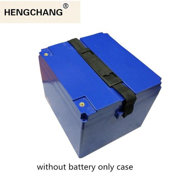12V 24V 36V 48V 60V 20Ah/30Ah LiFePo4 LiMn2O4 LiCoO2 batterie boîte de rangement boîtier en plastique pour moto électrique ebike