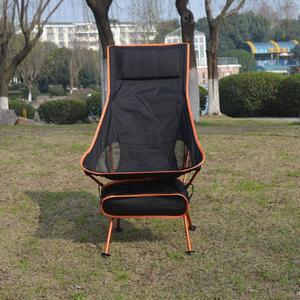 Image 2 - Taşınabilir katlanabilir ay sandalye sağlam uygun Ultralight plaj koltukları yürüyüş balıkçılık kamp için açık arkalığı sandalyeler