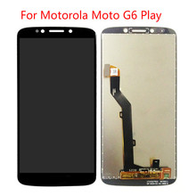 1Pcs BKparts Tested 5pcs For Motorola Moto G6 Play xt1922 LCD Display Touch Screen Glass Digitizer Complete Assembly Replacement for motorola moto g5 lcd display touch screen xt1672 xt1676 lcd screen glass digitizer complete assembly